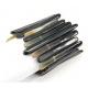 Bracelet en Corne de buffle Paillettes fines foncées sur double fils extensibles