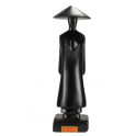 Statuette en bois noir Miss Saïgon Taille 17 cm