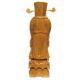 Groupe de 3 Statuettes en bois clair les 3 Sage  Hauteur 45 cm