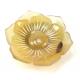 Chou-chou élastique à cheveux en corne de buffle Fleur claire