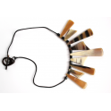 Real Natural Buffalo Horn necklace - Ethnic style