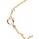 Pendentif Plaqué Or Swarovski Golden Shadow et Perle Blanche