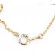 Pendentif Plaqué Or Swarovski Golden Shadow et Perle Lavande