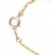 Pendentif Plaqué Or Swarovski Coeur Emeraude et Perle Golden